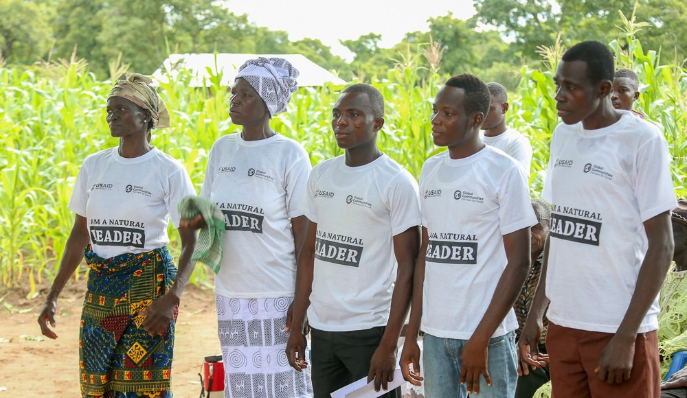 """Natural leaders"" have played a pivotal role in fostering community-based sanitation improvements in Ghana and elsewhere across West Africa.   Photo credit: USAID/Ghana"