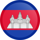The flag of Cambodia