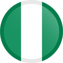 The flag of Nigeria