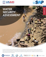 Water Security Assessment - SWP Toolkit #2