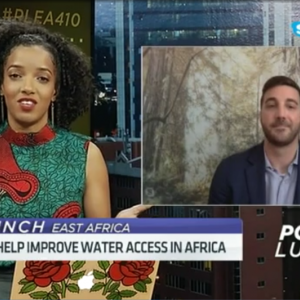 A U.S. water data expert sent to Liberia and Uganda shares his information technology solutions with audiences across Africa via CNBC.