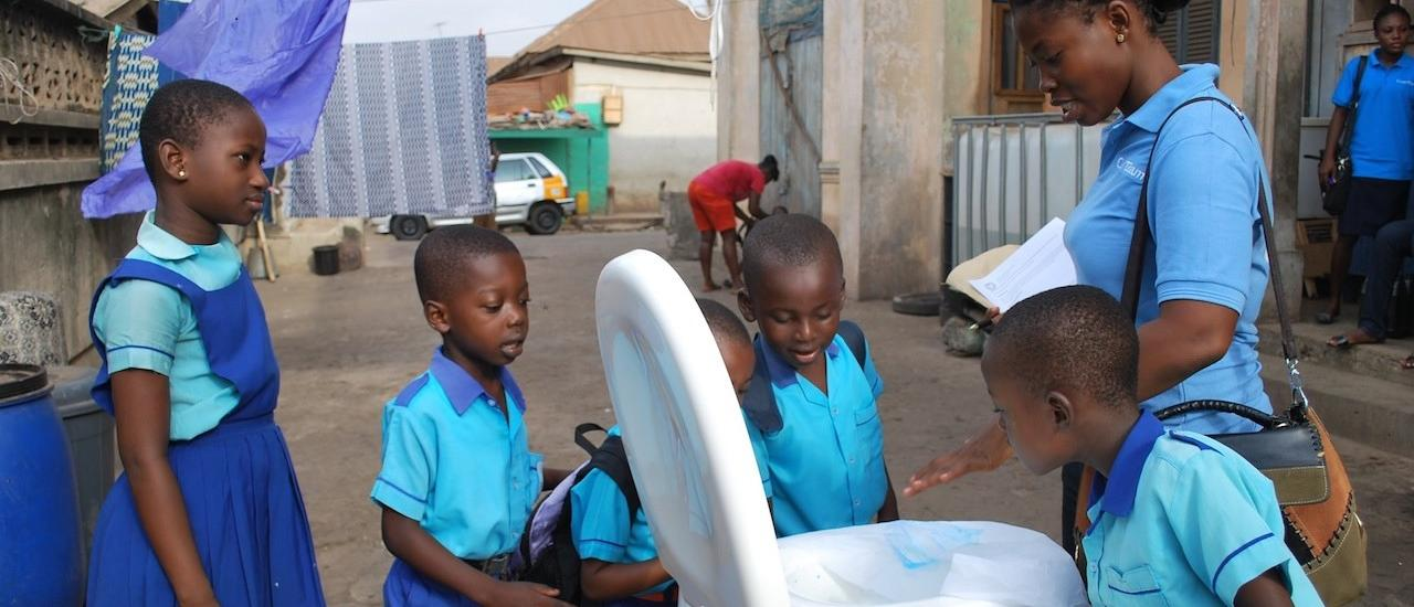 BOOMING BUSINESS: SSD helps businesses enter the sanitation market. Photo Credit: WSUP