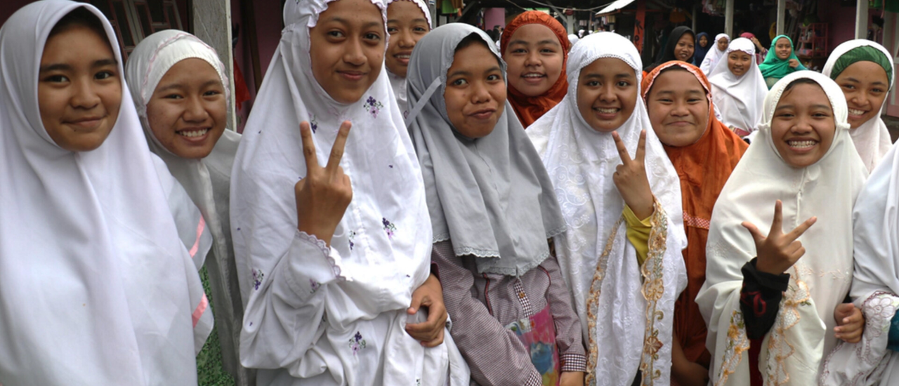 Schoolgirls in Indonesia. Photo credit: USAID/Indonesia