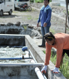 Be Secure worked on constructing and rehabilitating septage treatment plants in six cities. As a result of USAID's assistance, approximately 450,000 people now have access to better sanitation services. Photo credit: USAID/Philippines
