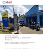Indonesia Environmental Services Program Ex-Post Evaluation – Executive Summary (Bahasa)