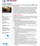 Fact Sheet: Resilience and Economic Growth in the Sahel – Enhanced Resilience (REGIS-ER)