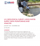 U.S. Geological Survey (USGS) Water Supply Data Monitoring and Analysis