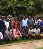 USHA grantees and USHA staff attend grantee orientation in June 2019. Photo credit: Dorothy Nabatanzi/USAID USHA
