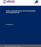 Africa Non-Revenue Water Program Synthesis Report