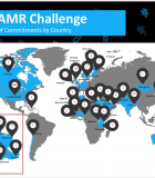 Global Participation: Countries that made commitments to the AMR challenge (as of December 11, 2019). Credit: CDC