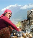 One of the Climatelinks Photo Contest Winners of 2020 features a multiple use water system in operation in Nepal. Photo credit: Bimala Rai Colavito