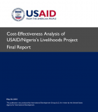 Cost-Effectiveness Analysis of USAID/Nigeria's Livelihood Project – WASH and Nutrition Component (IR3)