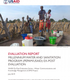 Evaluation Report: Millennium Water and Sanitation Program (PEPAM/USAID) Ex-Post Evaluation