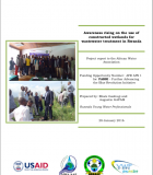 Awareness Rising on the Use of Constructed Wetlands for Wastewater Treatment in Rwanda: Project Report to the African Water Association