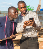 The widespread use of cellphones and increased access to mobile Internet is enabling the growth of financial technology (fintech) in the developing world. Photo credit: Shutterstock