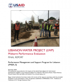 Lebanon Water Project (LWP): Midterm Performance Evaluation