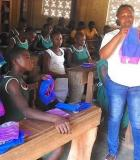 Menstrual hygiene activities in Ghana