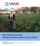 Mid-Term Evaluation: Tajikistan Agriculture and Water Activity (TAWA)