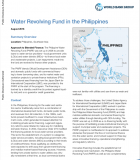 Water Revolving Fund in the Philippines – World Bank Case Study
