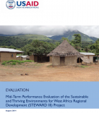 Mid-Term Performance Evaluation of the Sustainable and Thriving Environments for West Africa Regional Development (STEWARD III) Project