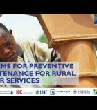 Preventive Maintenance Models for Sustainable Rural Water Services