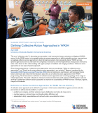 Defining Collective Action Approaches in WASH