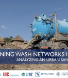 Webinar Slides for Strengthening WASH Networks in Ethiopia: Analyzing an Urban Sanitation System