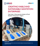 Enterprise Viability Case Study: A Retrospective Analysis of Rural Sanitation Enterprises in Nigeria