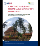 Enterprise Viability Case Study: A Retrospective Analysis of Rural Sanitation Enterprises in Cambodia