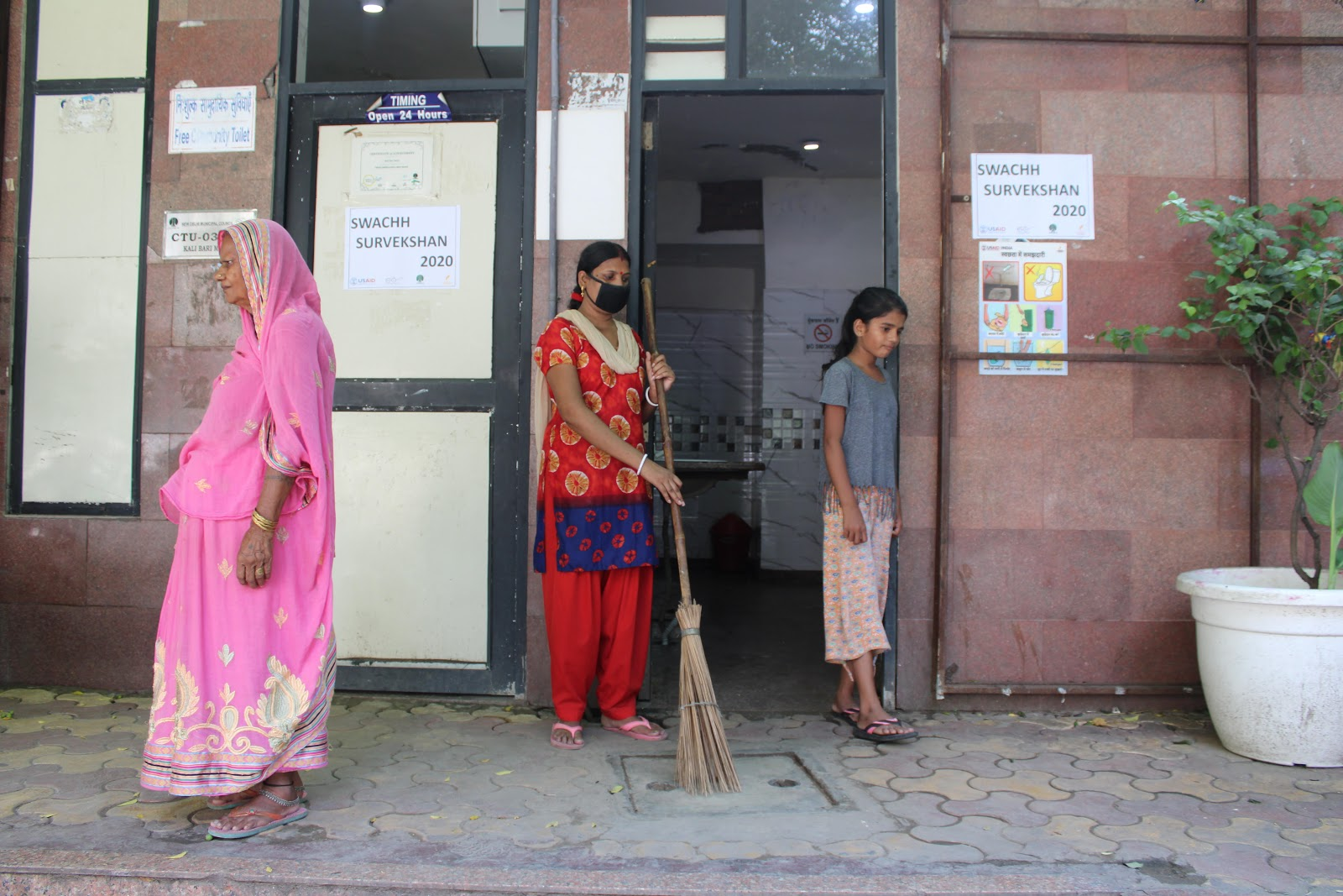 Public sanitation facilities have become a symbol of dignity, safety, and a source of income for several women of urban India—they are today not just users but also caretakers of community and public toilets built under Swachh Bharat Mission-Urban. Photo credit: CURE